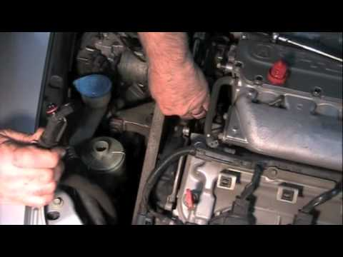 Power steering leak Acura/Honda - YouTube