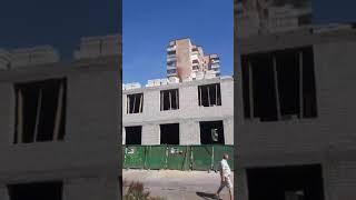 Пожежа на Київській у Житомирі  Відео Andrey Koval