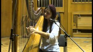 Hope Sandoval & The Warm Inventions - Charlotte (Acoustic harp & vocal cover by FloraLyn George)