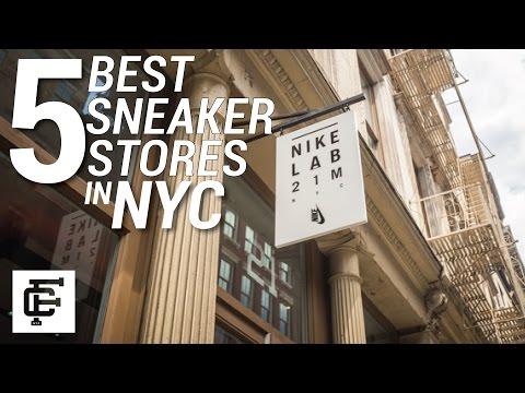 TOP 5 BEST SNEAKER STORES IN NYC