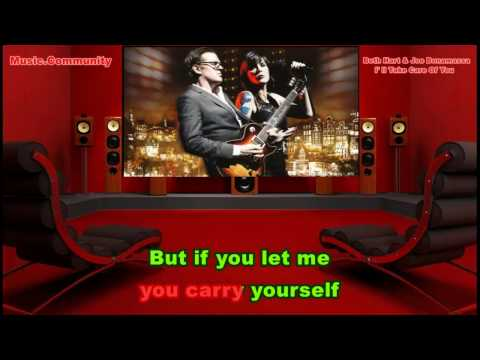 Karaoke - Beth Hart & Joe Bonamassa - I'll Take Care Of You