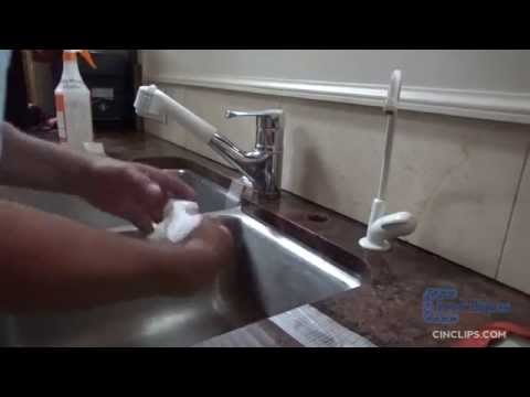 Cinclips undermount sink kits