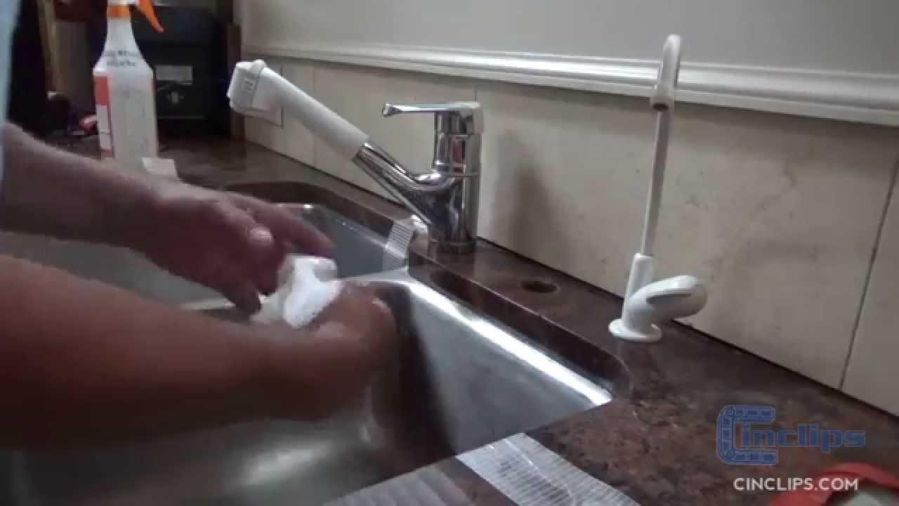 Cinclips Undermount Sink Kits Youtube