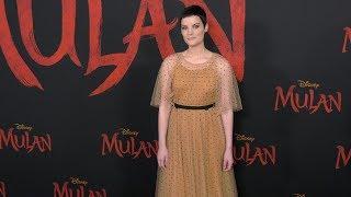 "Jaimie Alexander ""mulan"" World Premiere Red Carpet Fashion"