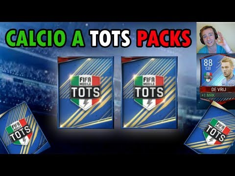 CALCIO A TOTS PACKS OPENING | FiFa Mobile | CALCIO A TOTS ELITE ! + FiFa Mobile Review !