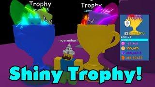 Got Shiny Trophy! Most Insane Pet Ever! - Bubble Gum Simulator Roblox
