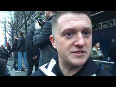 Tommy Robinson (Rebel Media) o Marszu Niepodległości