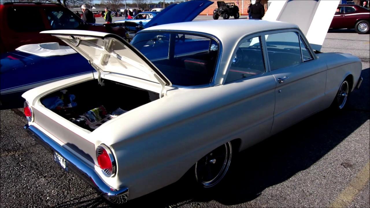 Rare 1962 ford falcon 2 door sedan with a v8 a stick