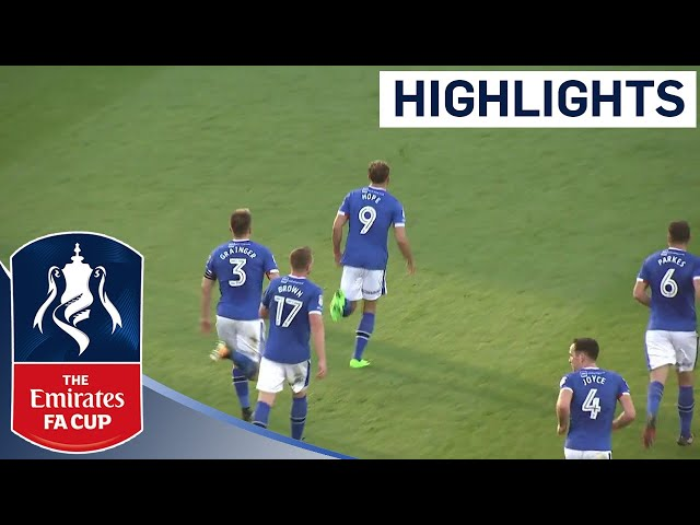 Carlisle United 3 - 2 Oldham Athletic | Highlights | The Emirates FA Cup 2017/18