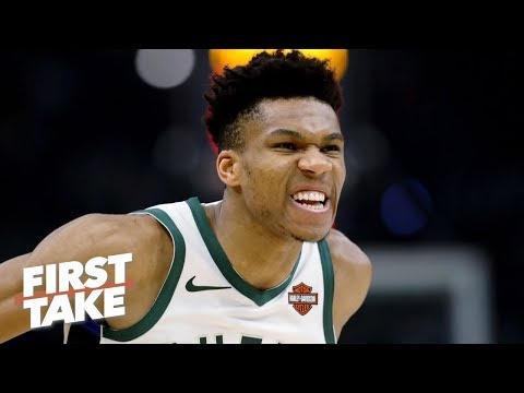 Stephen A. has lost faith in Giannis and the Bucks chances vs. the Raptors | First Take