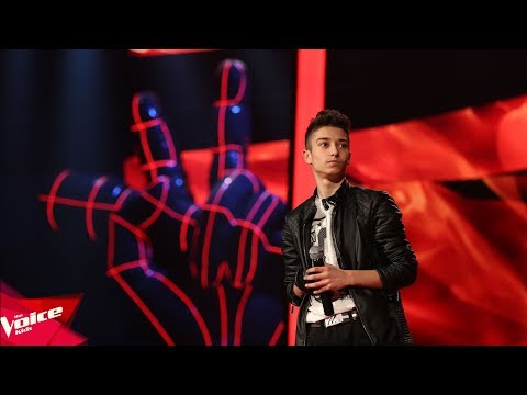 Shpetimi - Radioactive | The Blind Auditions | The Voice Kids Albania 2018