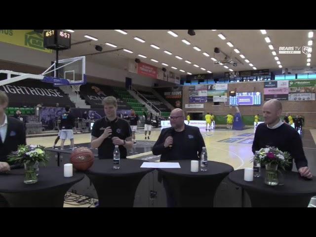 BEARS TV LIVE | DM-Finaleserien | Kamp 3 vs Horsens IC