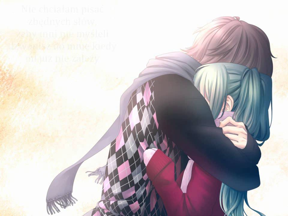 Nightcore love yourself polish version by olivia fok - Anime hug pics ...