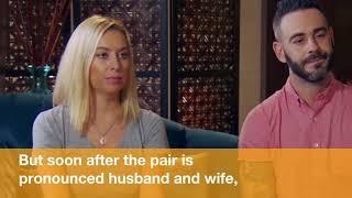 Surprise! Watch This Married At First Sight Groom Confess He's Unemployed To His Wife