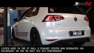 Golf 7 GTI.. several Versions for Listening to the Sound! Bull-X Auspuffsound thumbnail