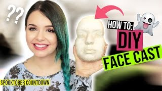 HOW TO: DIY FACE CAST / LIFE CAST - #SpooktoberCountdown