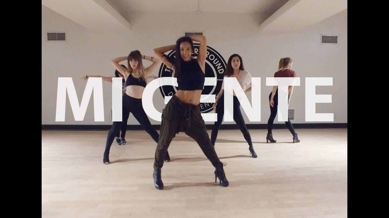 Mi Gente J Balvin Stef Williams Reggaeton Heels Dance Class