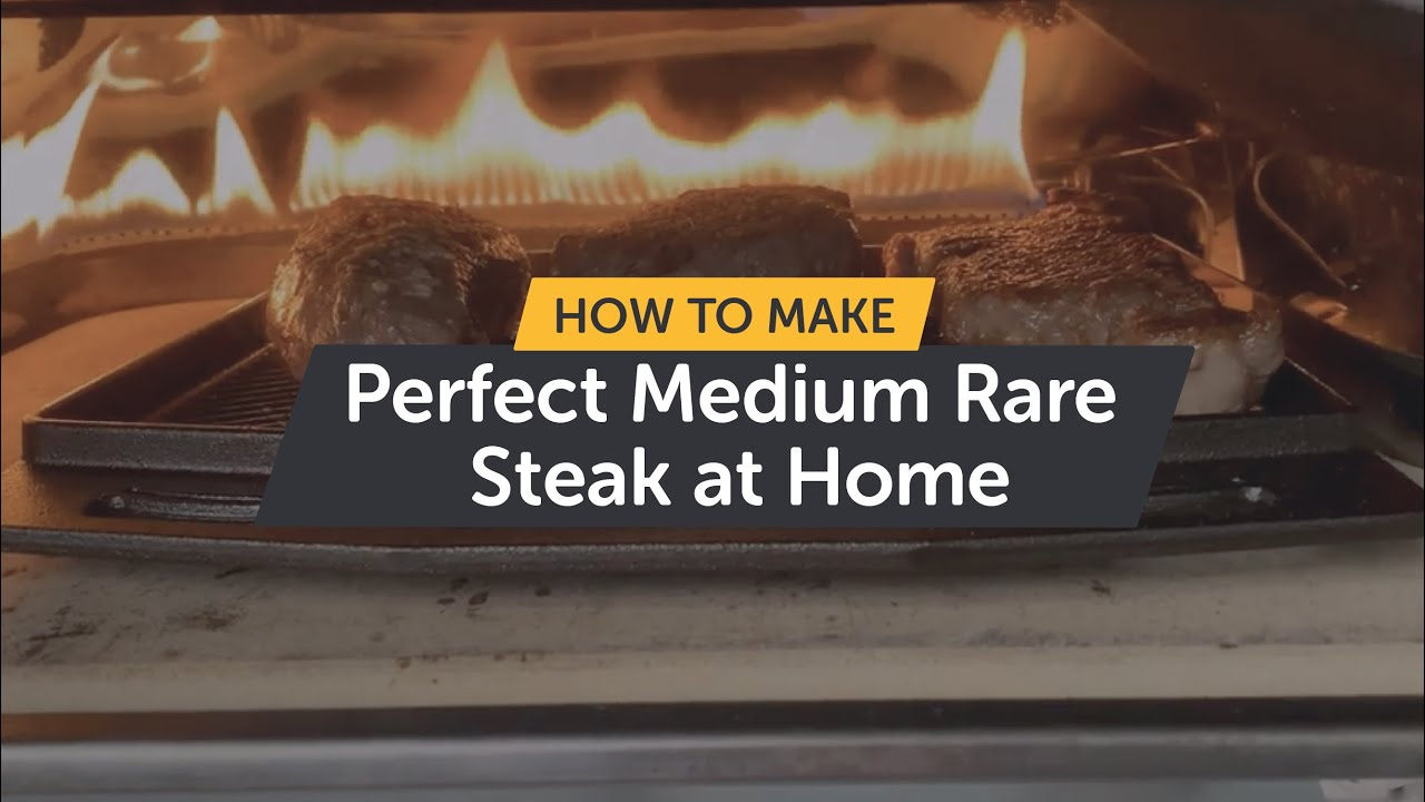 How To Make Perfect Medium Rare Steak at Home  | Cast Iron Series
