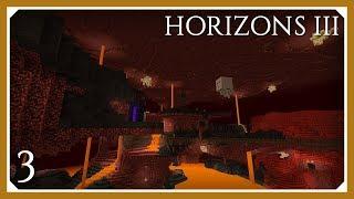 FTB Horizons 3 | Nether & Cyclic Mod! | E03 (Modded Minecraft 1.12.2)