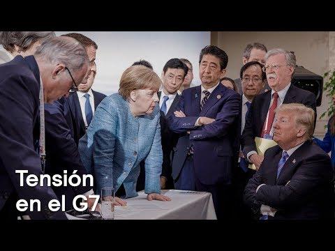 Tensión en la Cumbre del G7 por guerra comercial de Trump - Despierta con Loret