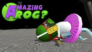 FROG BEATS WORM ON THE MOON WITH JETPACK! - Amazing Frog Gameplay