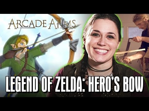 The Hero's Bow from Legend of Zelda | Arcade Arms Ep 3 Hosted by Nika Harper