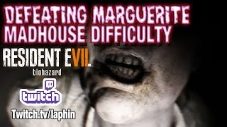 Killing Marguerite (Boss) | Madhouse Difficulty | RE7