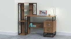Mayline Soho Storage Office Writing Desk
