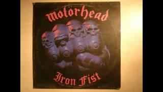 MOTÖRHEAD - Iron Fist - Vinyl LP-  Full Album