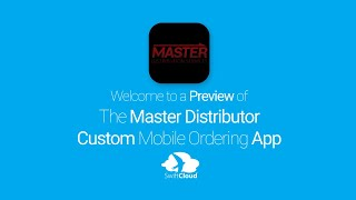 Master Distributor - Mobile App Preview - MAS855W