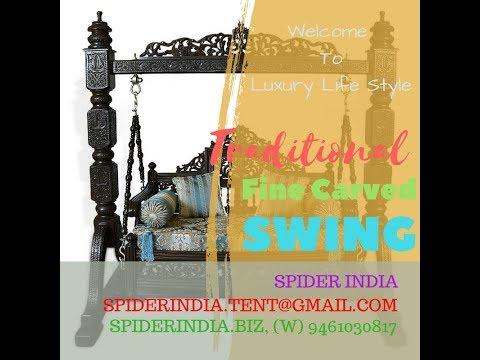 Wooden Swing For Living Room    Buy Designer Wooden Swings or Jhula    DIY Porch Swing Build