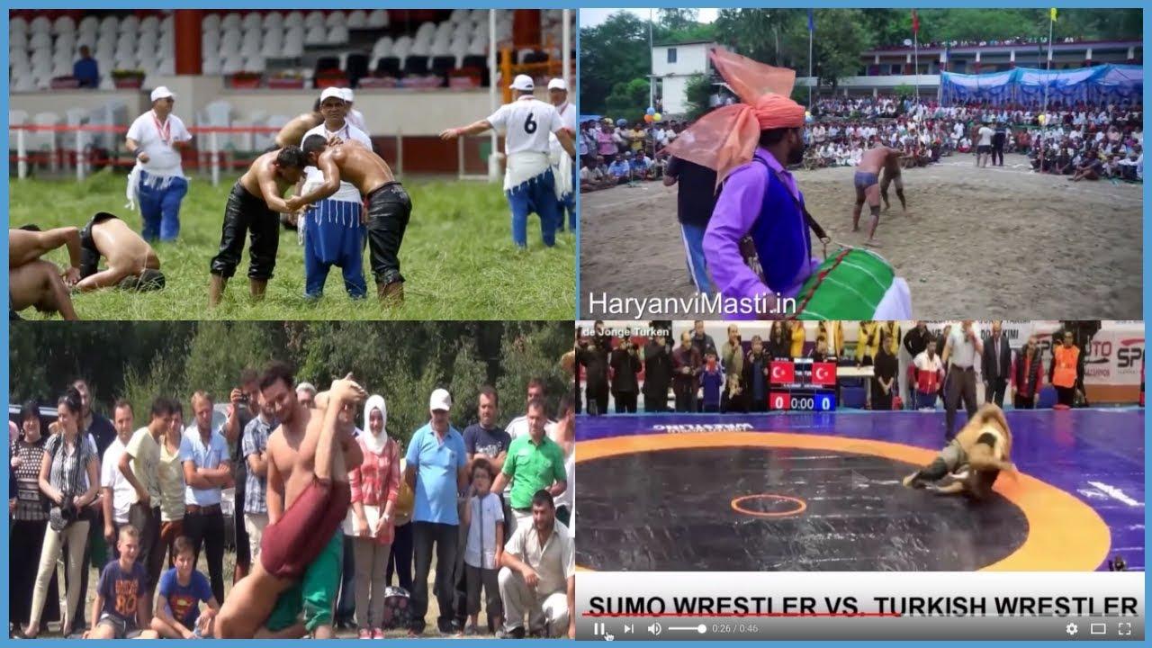 oil Lesbian wrestling turkish