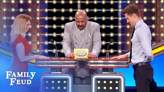 LOL! Grandma hides her POT here! | Family Feud