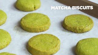 Matcha Biscuits - Bánh Quy Bơ Trà Xanh | Bakez - Baking Tutorials and Recipes