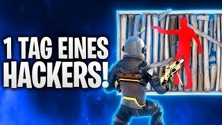 1 TAG EINES HACKERS IN FORTNITE! 🔥 | Fortnite: Battle Royale
