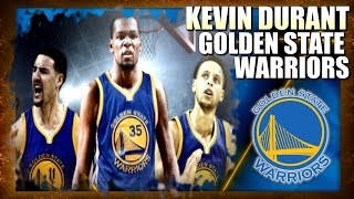 Kevin Durant SIGNS WITH The Golden State Warriors - 2017 NBA Season Simulator