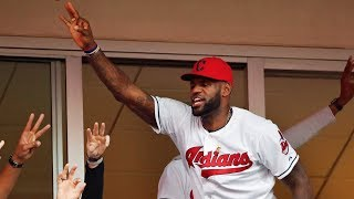 LeBron James gives the Cleveland Indians a shoutout for their record win streak | ESPN