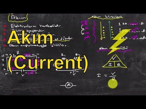Elektrik Elektronik Mühendisliğine Giriş Ders 4: Akım (Current)