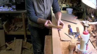 Making Pencil Posts- #2- Scribing Tapers