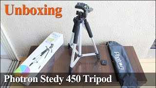 Photron Stedy 450 Tripod Unboxing