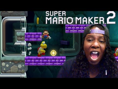 Super Mario Maker 2 RAGE | Story Mode and SpeedRun