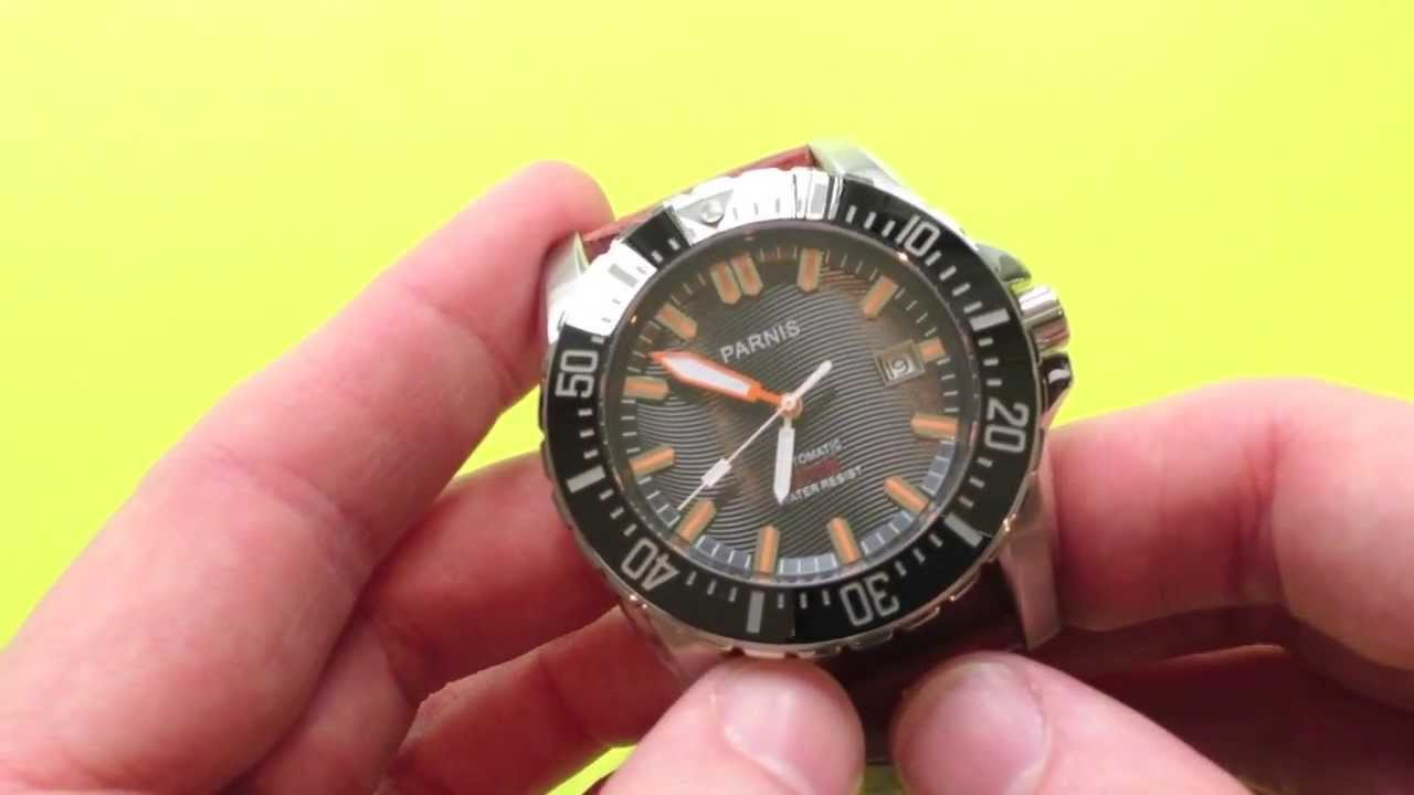 Parnis 200m Diver Watch Review - WatchItAllAbout