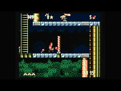 CGRundertow - AERO THE ACRO-BAT for Sega Genesis Video Game Review