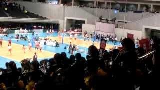 2015 第67回全日本バレーボール高等学校選手権大会 川崎橘高校