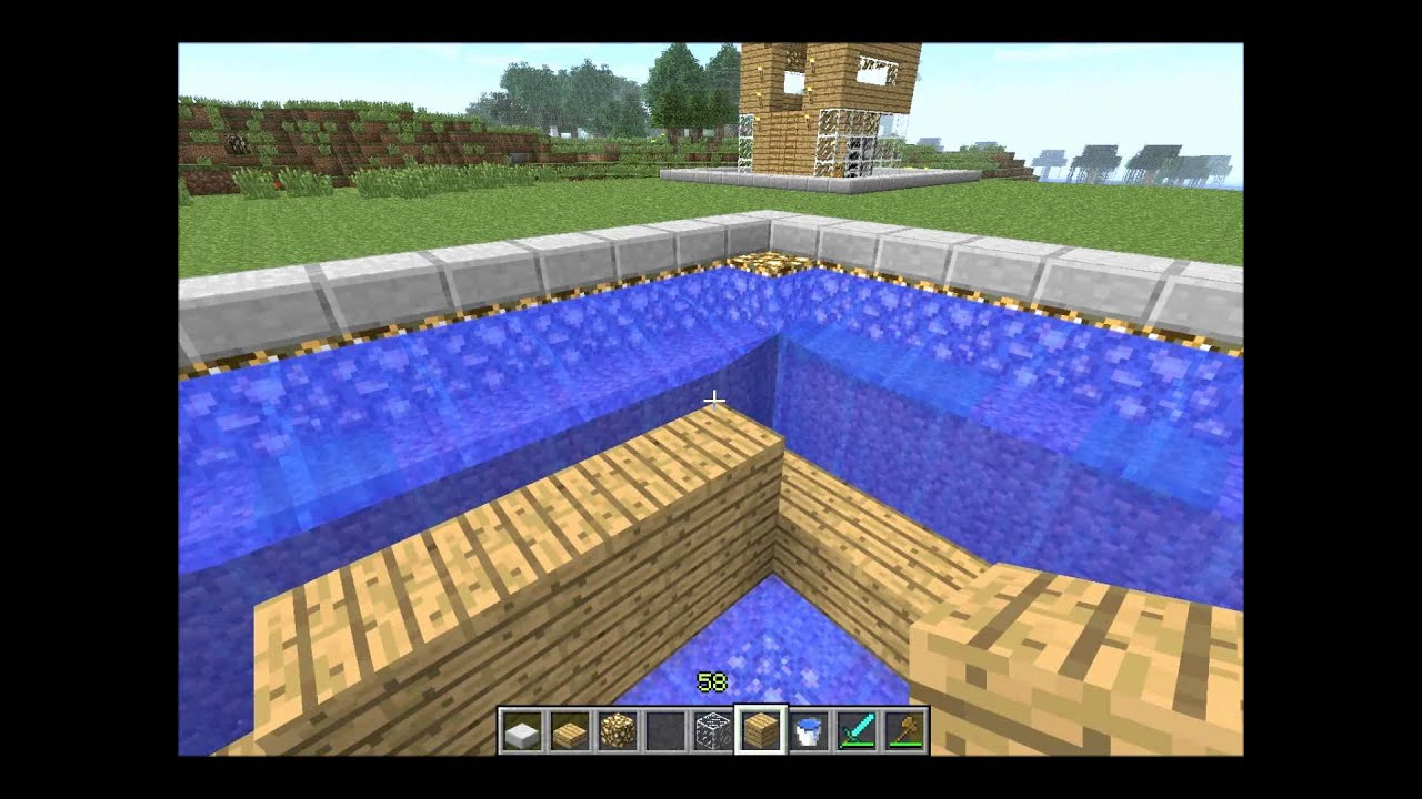 Minecraft - How To Build A Mob Trap House