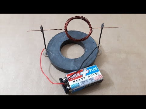 How to Make DC Motor With Magnet