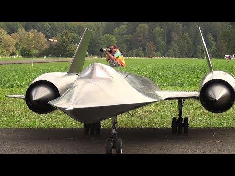 Blackbird SR71 RC Turbine Jet Model2  Roger Knobel Hausen 2018