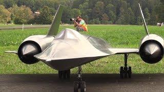 Blackbird SR-71 R/C Turbine Jet Model2 by Roger Knobel Hausen 2018