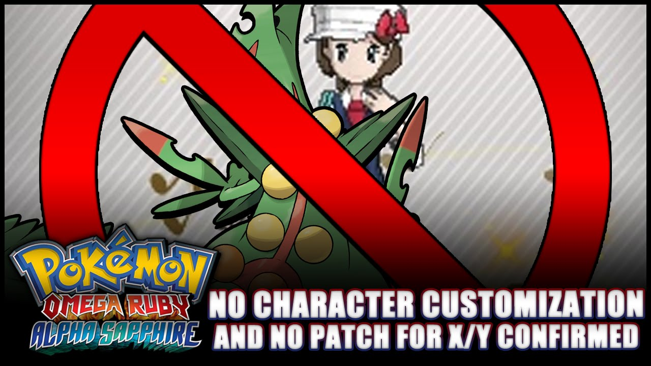 pok233mon omega ruby and alpha sapphire news no character