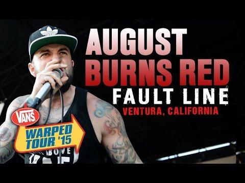 "August Burns Red - ""Fault Line"" LIVE! Vans Warped Tour 2015"